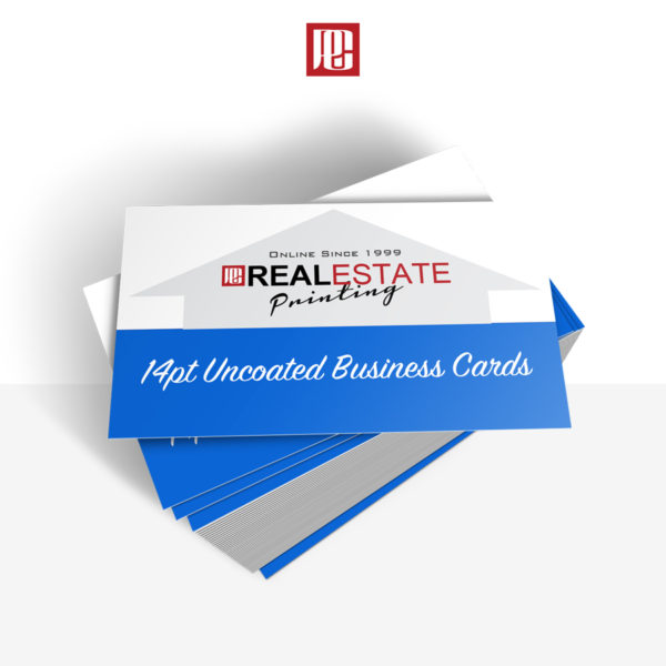 14pt Uncoated Business Cards
