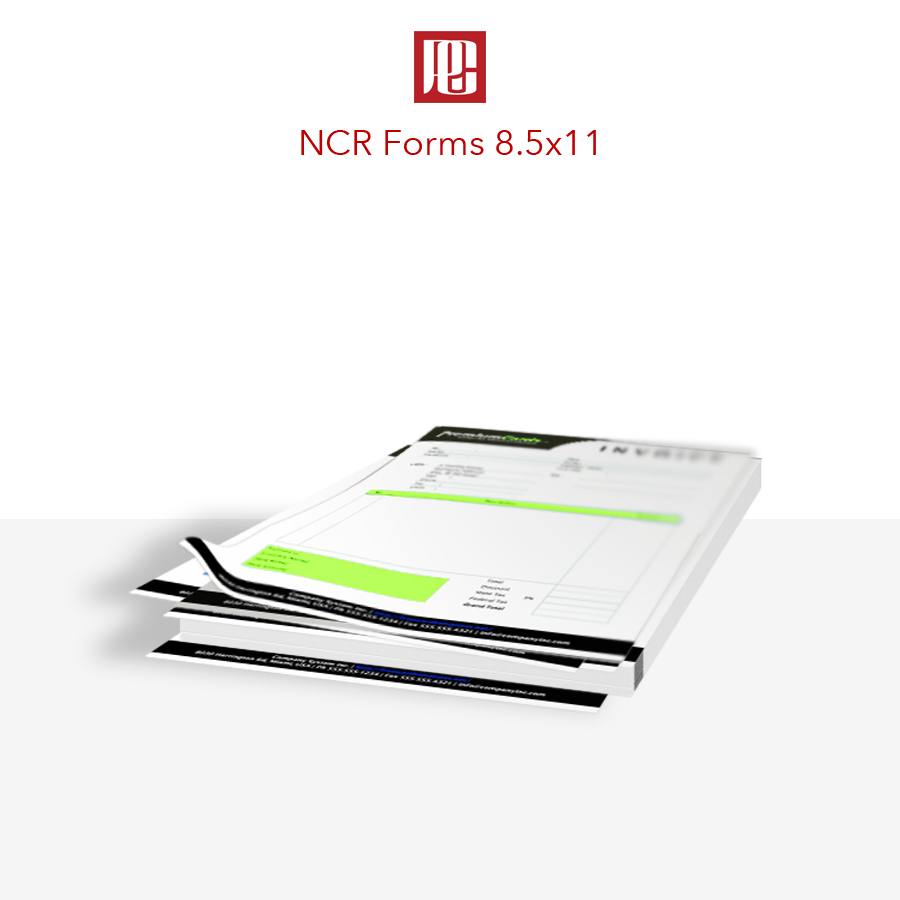 8.5x11 NCR Forms