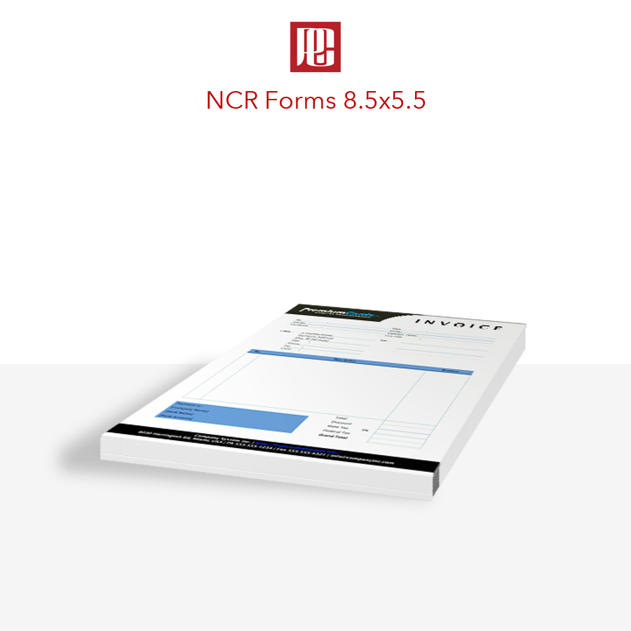 8.5x5.5 NCR Forms