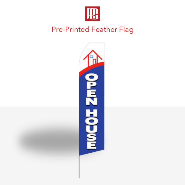 Pre-Printed Feather Flags