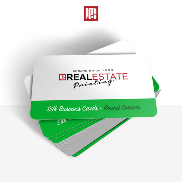 Silk Business Cards with Rounded Corners