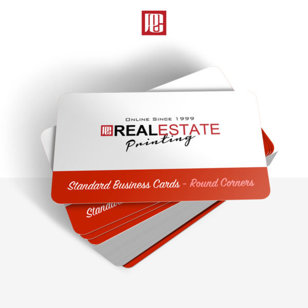 16pt Premium Business Cards with Rounded Corners