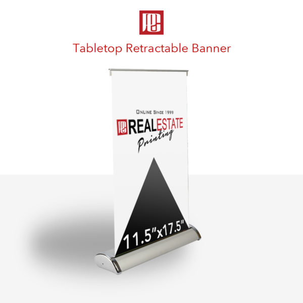 Table Top Retractable Banner